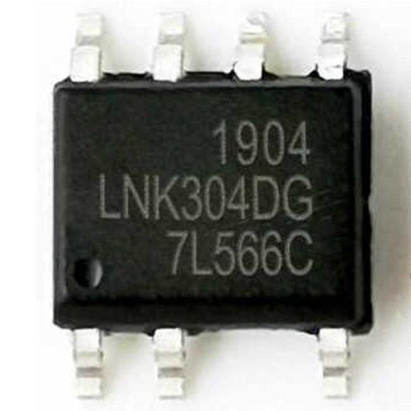 LNK304DG SMD hálózati off-line kapcsolóüzemű táp IC